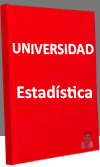 Universidad. Estadística